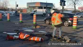 Weekend traffic: Closures scheduled at Saint-Pierre Interchange, Atwater Ave. due to roadwork - CTV News Montreal