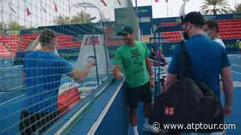 Federer Found A Friend: 'David Goffin, Baby!' | Video Search Results - ATP Tour