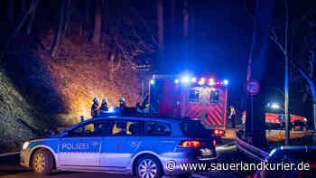 Radevormwald-Dahlhausen: Unfall-Drama auf L81 - Fußgänger stirbt, Autofahrer flüchtet - SauerlandKurier