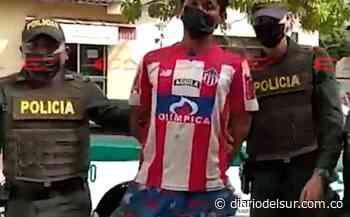 No tiene perdón de Dios: Capturado 'Chibolo' por robar en una iglesia con un hacha [VIDEO] - Diario del Sur