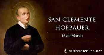 San Clemente M. Hofbauer: un hombre Providencial - MisionesOnline - Misiones OnLine