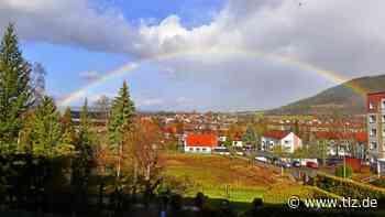 Regenbogen über Heiligenstadt - Thüringische Landeszeitung