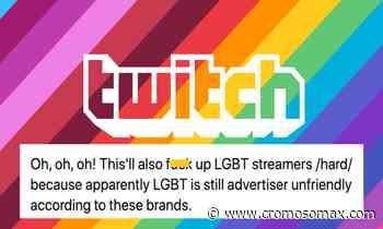 La comunidad LGTB+ puede verse apartada de Twitch - Cromosoma X