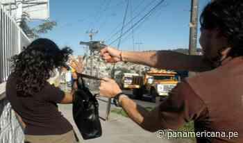 SJM: vecinos de Ricardo Palma atemorizados por constantes actos delictivos   Panamericana TV - Panamericana Televisión