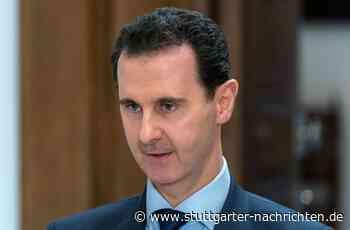 Baschar al-Assad - Syriens Präsident positiv auf Corona getestet - Stuttgarter Nachrichten