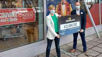 Inzet van 2,5 euro levert Belgische EuroMillions-winnaar maa... (Wezembeek-Oppem) - Het Nieuwsblad
