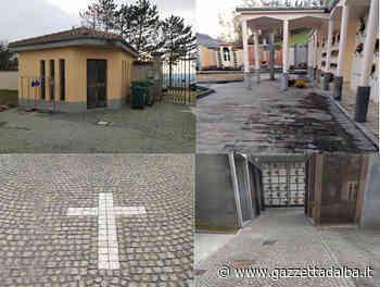 Lavori di abbattimento barriere architettoniche presso il cimitero di Monchiero - http://gazzettadalba.it/
