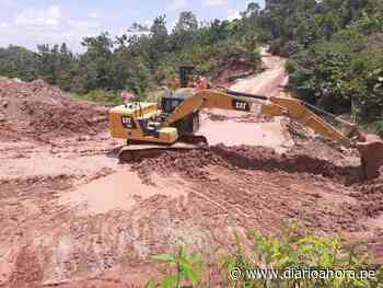 Rehabilitan tramo Cuñumbuque- San José de Sisa - Agua Blanca - DIARIO AHORA