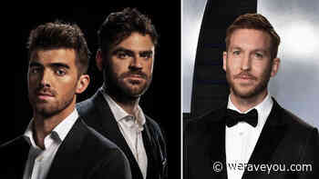 The Chainsmokers & Calvin Harris are on Spotify's highest-earners list - We Rave You