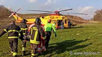 Alzate Brianza, cade ultraleggero: ferito il pilota - IL GIORNO