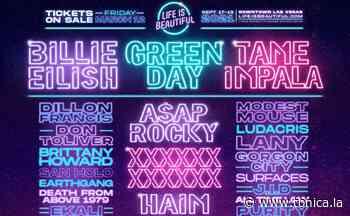 Life Is Beautiful 2021 anuncia a Billie Eilish, Green Day y Tame Impala - Tónica