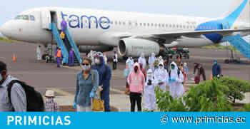 Asignadas a tres empresas las frecuencias de TAME en Galápagos - Primicias