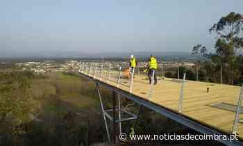 Miradouro do Ecoparque de Sangalhos em fase de conclusão - Notícias de Coimbra