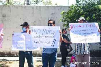Comunidades de Suchitoto en contra de la construcción de una granja avícola - InformaTVX - Noticias El Salvador