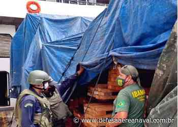 """Marinha apreende embarcação com madeira irregular em Barcarena (PA) durante Operação """"Verde Brasil II"""" - Defesa Aérea & Naval"""