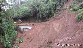 Caramanta incomunicado por un gran deslizamiento de tierra - Caracol Radio