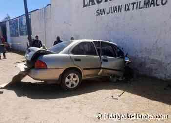 Tras impactarse vs barda, joven pierde la vida en Apan - La Silla Rota