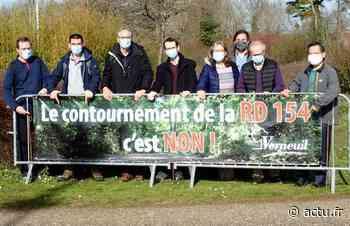 Yvelines. Contournement de la RD154 à Verneuil-sur-Seine : Adiv-Environnement toujours mobilisée - actu.fr