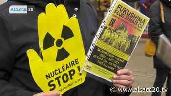 MULHOUSE : Le collectif Stop Fessenheim se mobilise pour sensibiliser la population à l'arrêt du nucléaire. - alsace20.tv