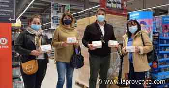 Bouc-Bel-Air : 50 000 masques ont été offerts aux élèves des écoles - La Provence