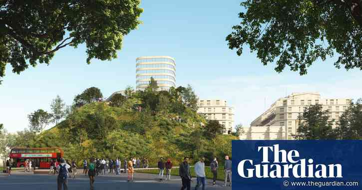 A hill to climb? Oxford Street 'mound' aims to lure back shoppers