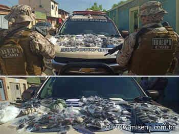 Cinco jovens foram presos em Mauriti com boa quantidade de drogas - Site Miséria