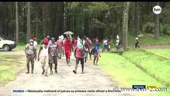 Refuerzan la medida de bioseguridad en campamento de migrante en Gualaca - TVN Panamá