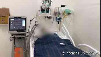 Vídeo mostra UTI lotada do Hospital de Charqueadas, no RS - UOL Notícias