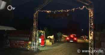 Drive-In-Weihnachtsmarkt in Schnaittenbach | Oberpfalz TV - Oberpfalz TV