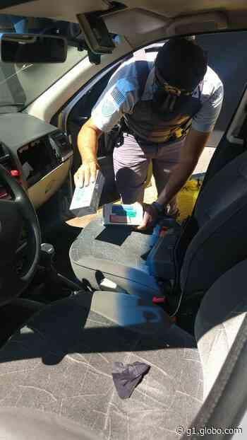 Polícia Rodoviária apreende 52 celulares sem nota fiscal em Pirapozinho - G1