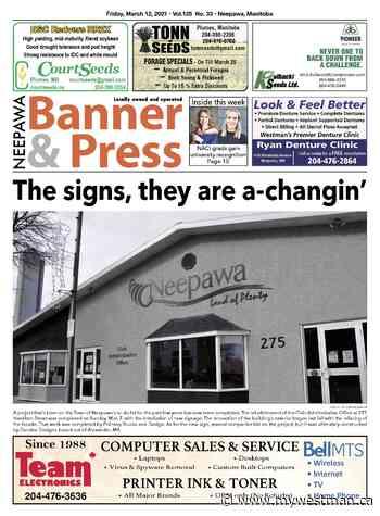 Friday, March 12, 2021 Neepawa Banner & Press - myWestman.ca