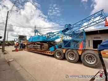 Llegaron maquinarias para construir el puente Paraiso - DIARIO AHORA