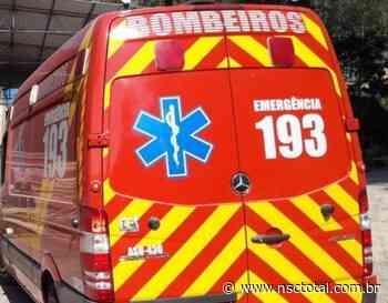 Duas pessoas sobrevivem após queda de laje em Barra Velha | NSC Total - NSC Total