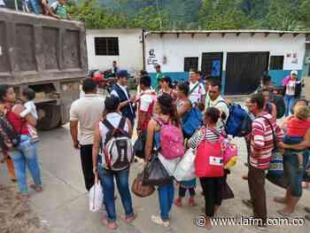 Desplazados en Hacarí se movilizarían a Ocaña y Cúcuta - La FM