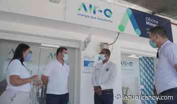 Alcalde de Dibulla, Marlon Amaya se sintió complacido por oficina de Air-e en Mingueo - La Guajira Hoy.com