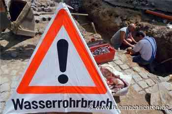 Rohrbruch in Horstmar: Eduard-Petrat-Straße ohne Wasser - Ruhr Nachrichten