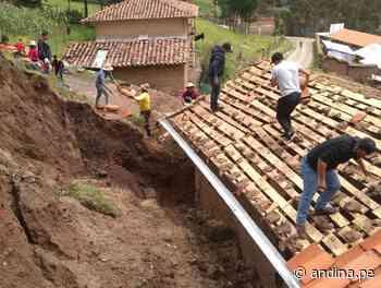 Áncash reporta el colapso de dos viviendas en Pomabamba por lluvias intensas - Agencia Andina