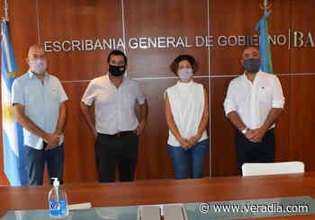 Pacheco avanzó con gestiones en la Escribanía General de Gobierno - Veradia.com