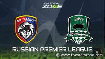 2020-21 Russian Premier League – Tambov vs Krasnodar Preview & Prediction - The Stats Zone