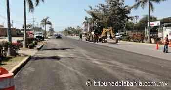 Mejoran la avenida Michoacán en San José del Valle - Noticias en Puerto Vallarta - Tribuna de la Bahía