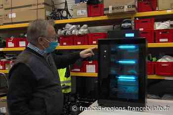 Covid 19 : à Echirolles près de Grenoble, une start-up commercialise des caissons de décontamination - France 3 Régions