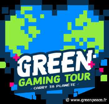 Green Gaming Tour - 1ère édition à Palavas-les-Flots - Greenpeace