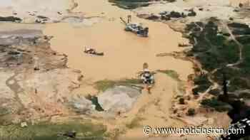Daño ambiental: minería ilegal de oro desapareció al río Nechí - Noticias RCN