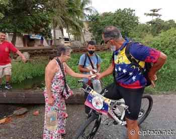 Vargas | Biciarepazo reparte mil arepas desde Catia La Mar a Naiguatá - El Pitazo