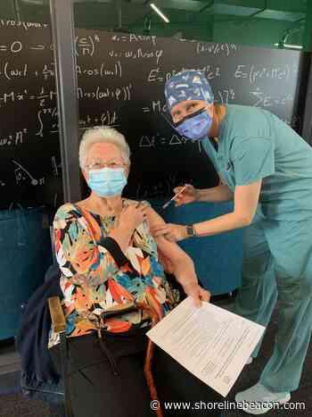Seniors vaccinated at Port Elgin COVID-19 clinic - Shoreline Beacon
