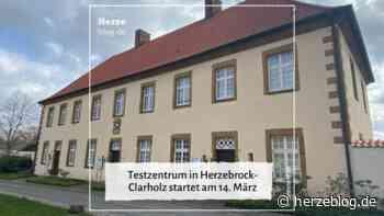 Testzentrum in Herzebrock-Clarholz startet am 14. März - Herzeblog.de