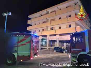 Incendio in un condominio a Luserna San Giovanni, 12 persone evacuate con l'autoscala - Quotidiano Piemontese