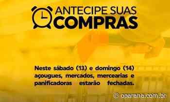 Com 220 casos ativos, Terra Roxa decide fechar o comércio sábado e domingo - O Paraná