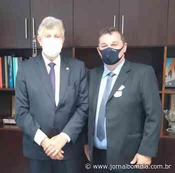 Em Brasília, prefeito de Erebango reforça a busca de recursos ao município - Jornal Bom Dia