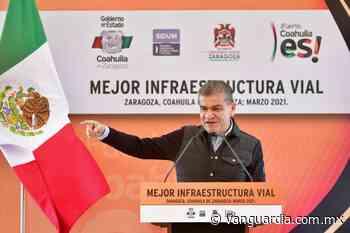 Inicia Miguel Riquelme obras en Nava, Morelos y Zaragoza, Coahuila, por un monto cercano a 15 mdp - Vanguardia MX